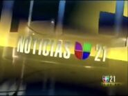 Kftv noticias univision 21 opening 2006