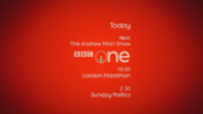 BBC One London Marathon Coming up Next bumper