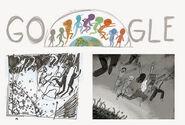 Google Jonas Salk's 100th Birthday (Storyboards)