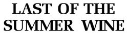 Last of the Summer Wine series 1