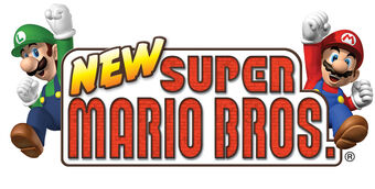 New Super Mario Bros Logopedia Fandom