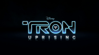 Tron Uprising title card