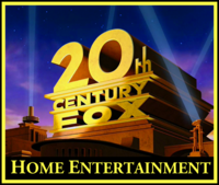 20th Century Fox Home Entertainment 1995 Color Print logo