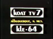 KOAT-TV 7 Albuquerque KLE 64