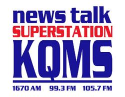 KQMS 1670 AM 99.3 105.7 FM