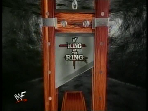 1600 - king of the ring logo wwf