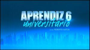 Aprendiz 6 Universitário