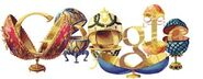 Google Peter Carl Fabergé's 166th Birthday (Version 3)