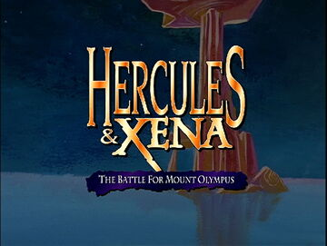 Hercules & Xena - The Battle for Mount Olympus title card