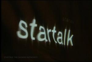 Startalk 6th Year OBB Logo (October 2001)
