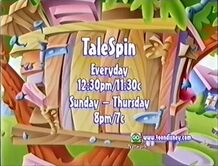Toon Disney promo advertising TaleSpin