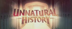 Unnatural History intertitle
