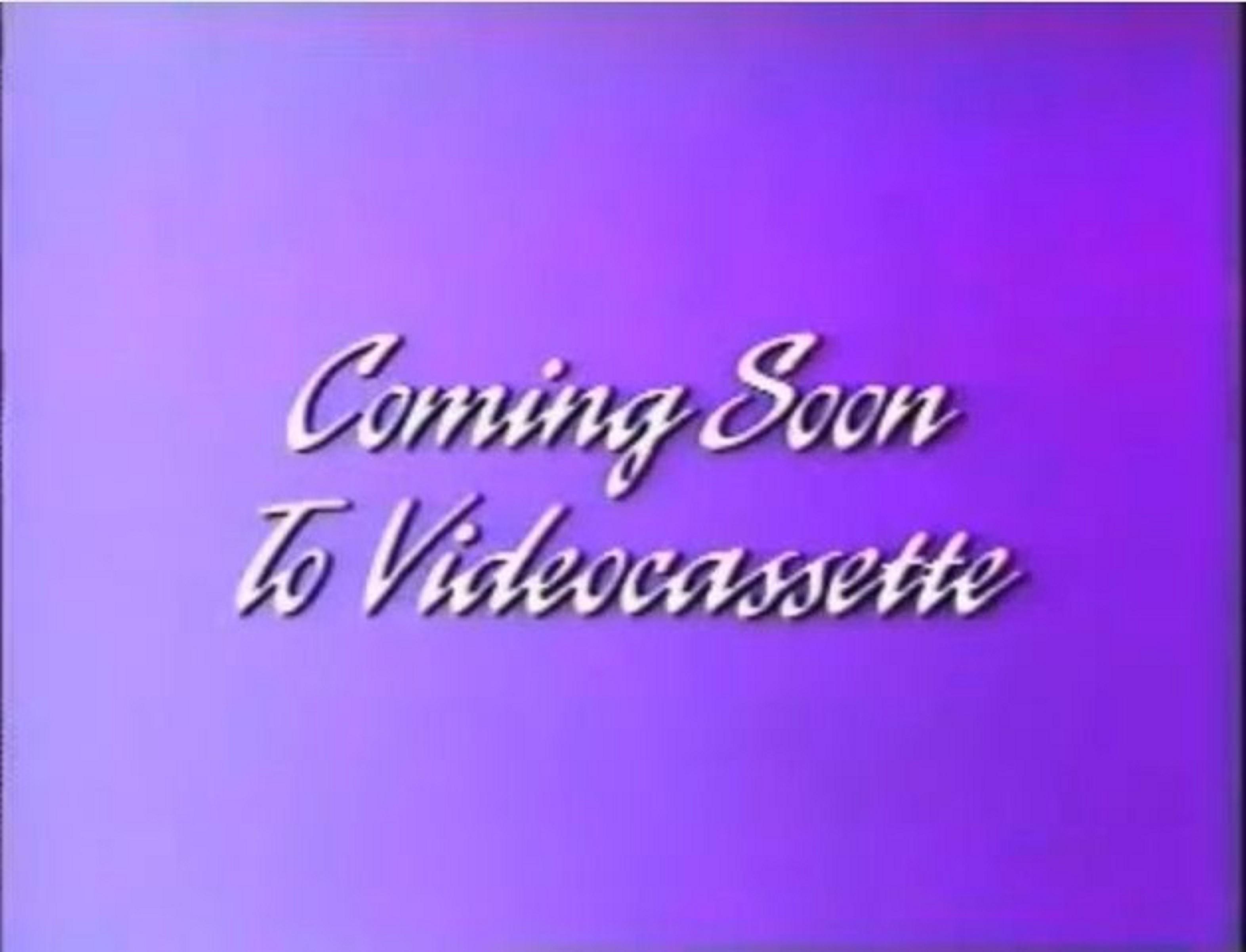 Walt Disney Studios Home Entertainment Buena Vista Coming Soon To Videocassette Logo 1995