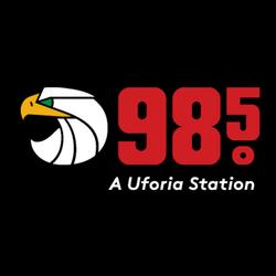 98.5 KGBT logo