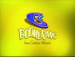 Boomerang logo (Yellow Background)