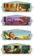 Google Nizar Qabbani's 93rd birthday (Storyboards 1)
