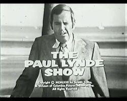 Paul Lynde Show Opening Title B W