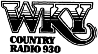 WKY Country Radio 930 - 1986