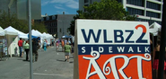 WLBZ-TV's Sidewalk Art Festival Video Promo For August 4, 2012