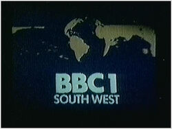 BBC 1 1974 South West