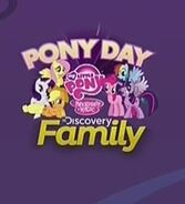Discovery Family onscreen bug, Pony Day