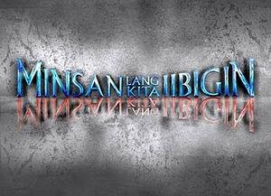 Minsan Lang logo