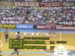 PBA on Vintage Sports scorebug 1988 1989