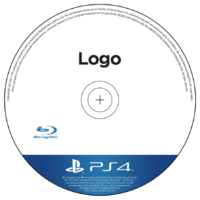 Ps4 disc template psd file by dash1412-d760uxt