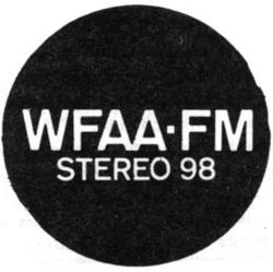WFAA FM Dallas 1970
