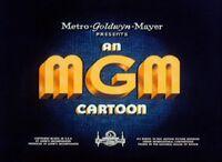 An MGM Cartoon Logo