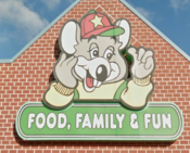 CEC Food, Family, Fun sign (captured from the Festival at Bel Air area)