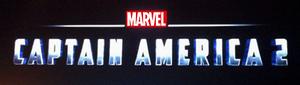 Captain America 2 prerelease logo