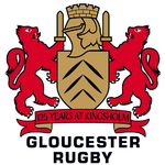 Gloucester Rugby logo (125 Years at Kingsholm)