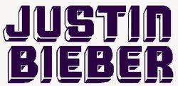Justin Bieber 2009 logo
