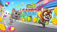 Talking Tom Candy Run Level 1-10 Walkthrough Gameplay -1 (By Outfit7) screenshot