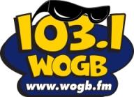 WOGB-FM 1031 radio logo