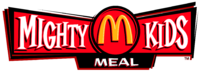 McDonald's Mighty Kids Meal logo