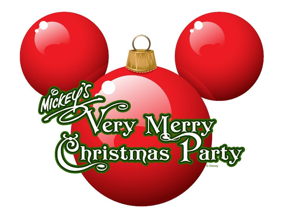 mickeys very merry christmas party logojpg - Merry Christmas Logos