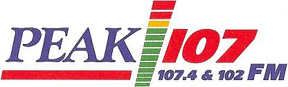 Peak 107 FM logo