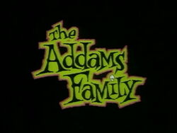 The Addams Family (1992 animated series) title card