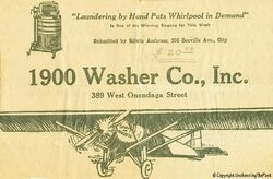 Washeradvertisement copy