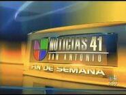 Kwex noticias univision 41 fin de semana package 2006