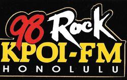 97.5 98 Rock KPOI-FM