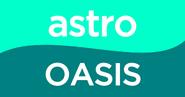 Astro oasis flat logo