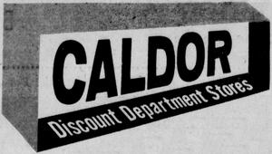 Caldor - 1960 -September 22, 1960-