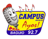 Campus Radio 92.7 Baguio Logo 2008