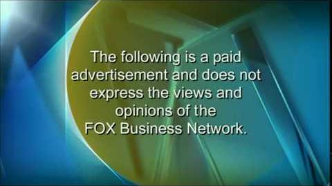 FOX Business Network Paid Programming Intro Outro Disclaimer (20??-present)