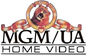 MGM-UA Home Video logo with Black Text