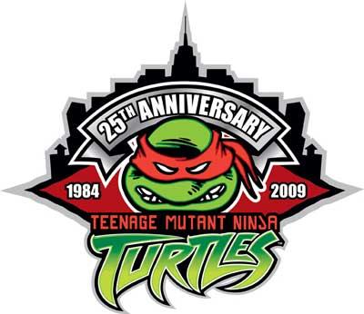 tmnt 25th anniversary logopedia fandom powered by wikia rh logos wikia com 25th Anniversary Disney TMNT Happy Birthday