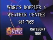 WBRC'S Doppler 6 Weather Center 1993